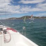 windsurf in barca a vela