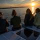 sun set sailing tour Palau