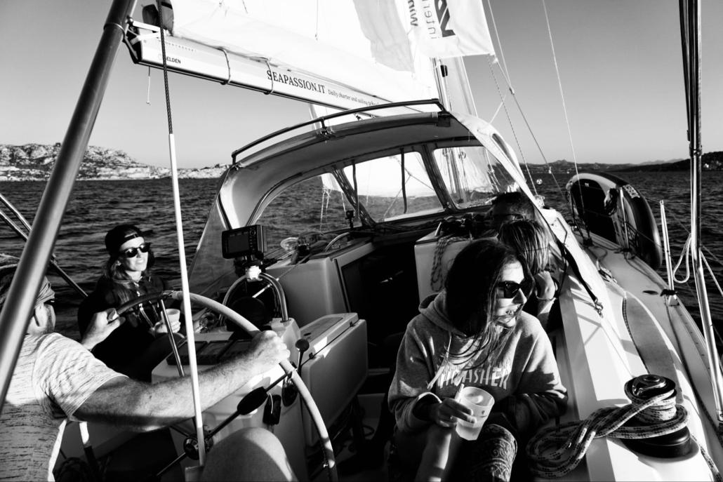 ìExkursionen auf dem Segelschiff Santa Teresa Gallura