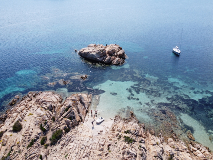 giro in barca a vela Maddalena