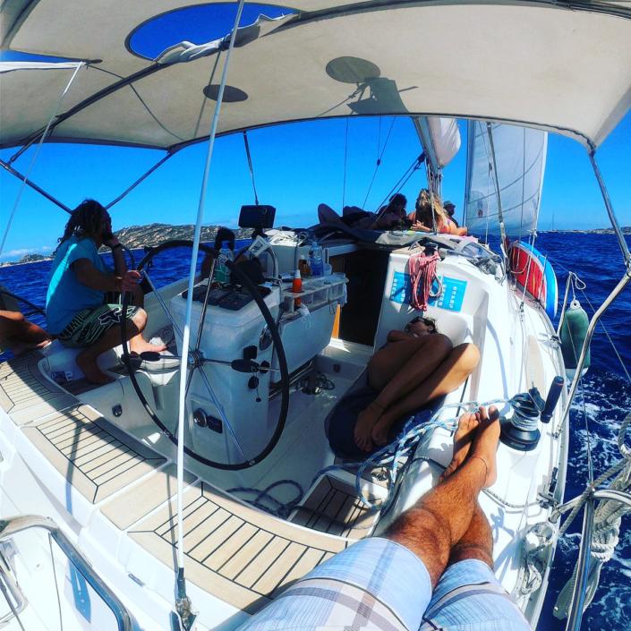 Giro in barca Maddalena