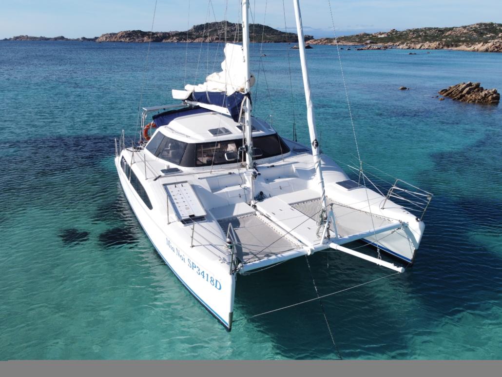 Porto Pollo charter Catamarano